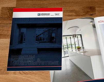 Broschüren für Kömmerling Premium Fenster made by Selo