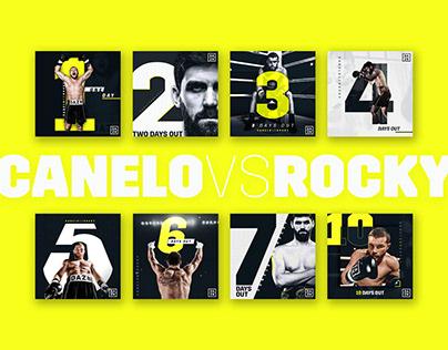 Canelo vs. Rocky Social Fight Countdown