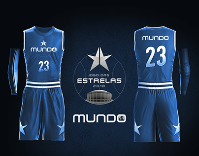 NBB All-Star Game - Brand and team uniforms