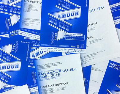 Par Amour du Jeu 1998-2018 / Visual Identity
