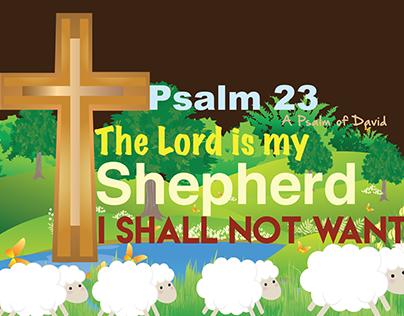 T-Shirt of Psalm 23