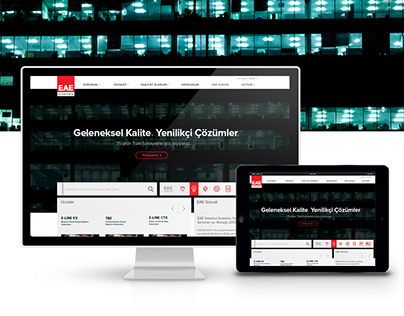 Website Redesign - EAE Electricity
