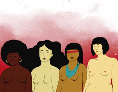 Identidade Visual // Semana de Mulher e Mídia 2018