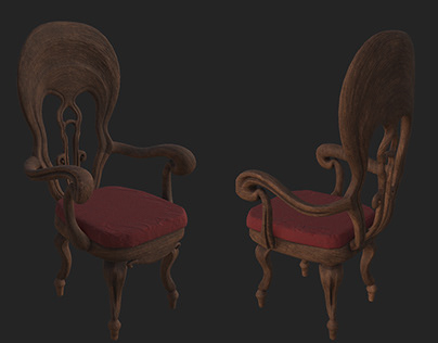 Victorian Dining Chair [VR horror game]