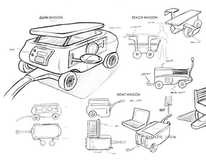 Outdoor Products Sketches