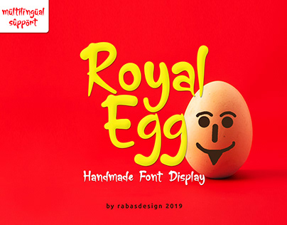Royal Egg - Font Display