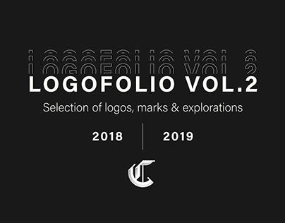 LOGOFOLIO VOL.2 - Selection of logos & marks 2018-2019