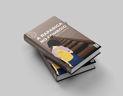 "Redesign Cover Book ""A Rapariga No Comboio"""