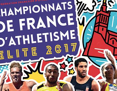 Motion GIFS - Championnats de France d'Athlétisme 2017