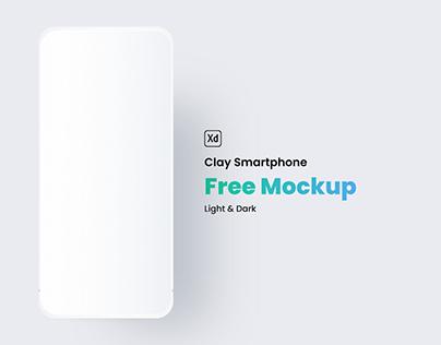 Clay Smartphone Mockup (Light & Dark)
