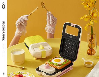 小家电摄影 | frunuts早餐机breakfast ✖ foodography