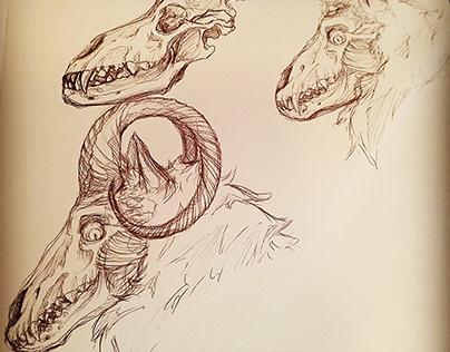 Cassian character design