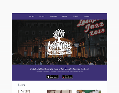 Loenpia Jazz 2015 (Website)