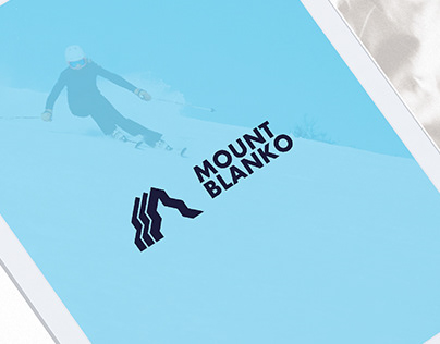 Mount Blanko - Logo Design