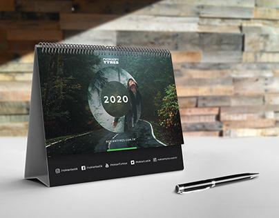 Nokian Tyres 2020 Yılı Üçgen Masa Takvimi