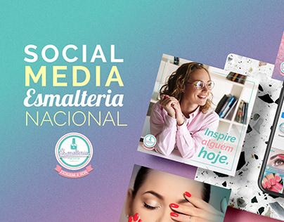Social Media - Esmalteria Nacional