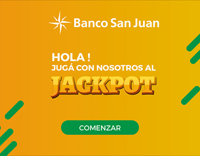 Banco San Juan - UX & UI For Game