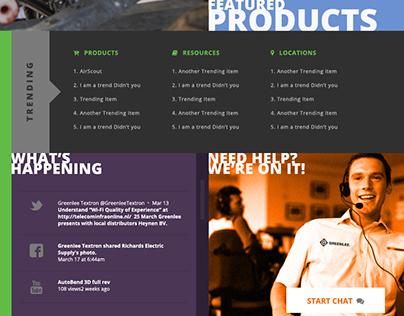 Spec Design - Tech/Construction Manufacturer