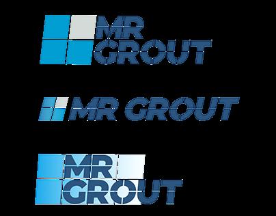 MR GROUT Logo Design