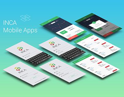 INCA mobile design