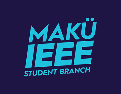 IEEE Mehmet Akif Ersoy University Student Branch Logo
