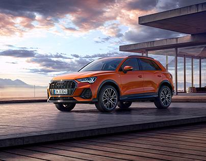 Audi Q3 Campaign & Brochure