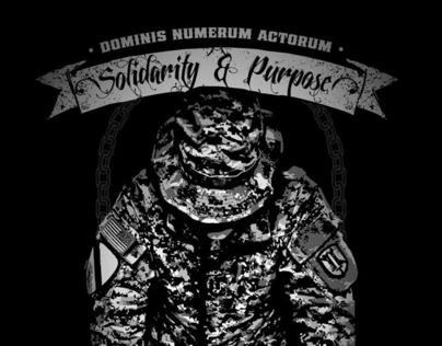 Military Shirt Design - NATIONAL GUARD