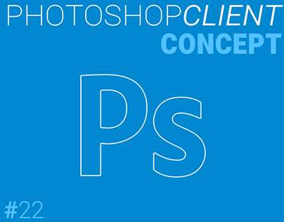 Photoshop Material Design Concept