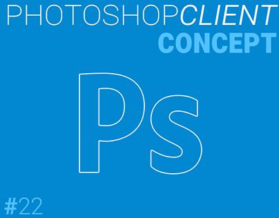 Photoshop Material Design Concept