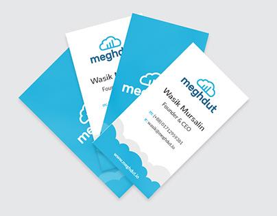 Business Card Design: Meghdut