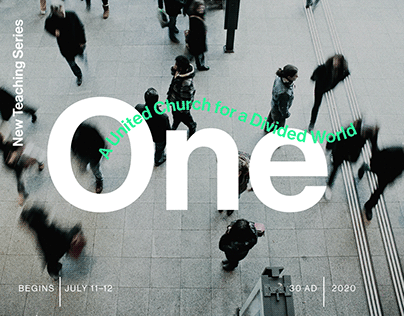 One: A United Church for a Divided World