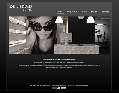Den Hoed Website