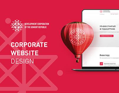 Корпоративный сайт Made in Udmurtia