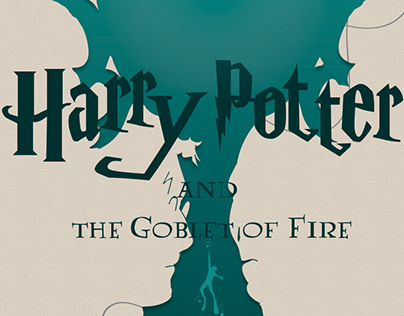Harry Potter and The Goblet of Fire | Book Cover Design