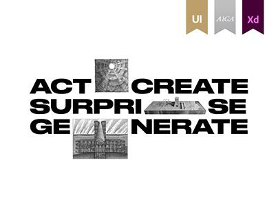 Architecture bureau criticvm© - Website
