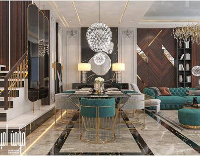 luxury neoclassic living
