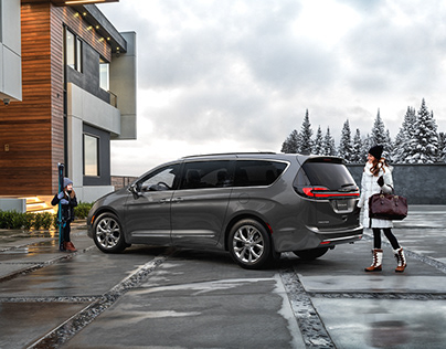 2021 Chrysler Pacifica CGI & Retouching