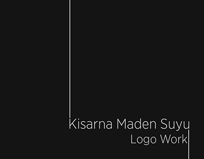 Kisarna Maden Suyu Logo Work
