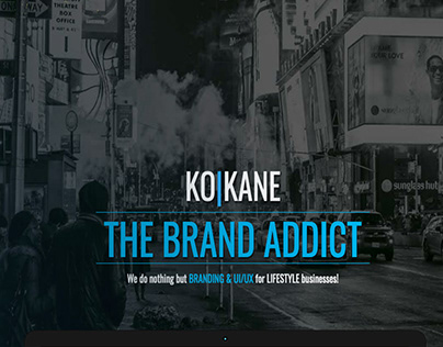 Ko-Kane Old website showcase
