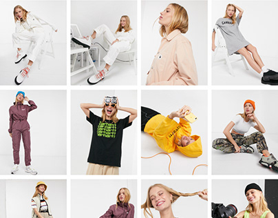 Model photography and video for ASOS