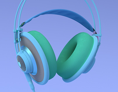 AKG headphones color play