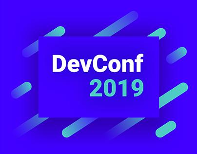 DevConf 2019   UI & conference visual identity