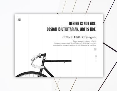 Design is not art. Daily challenge design