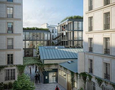 LA Architectures, pépinière artisanale, Paris XXe