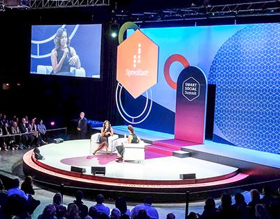 Stage Design: Smart Social Summit by Spredfast 2017