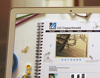 UML Art Department Website