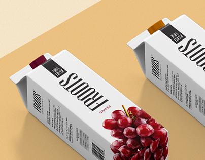 Froots Juice Packaging