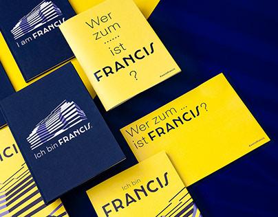 I am Francis.