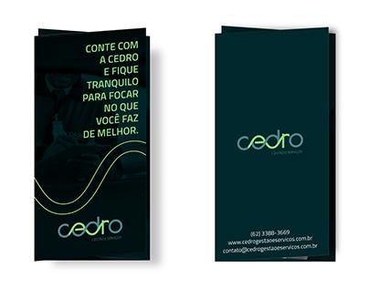 Panfleto - Cedro