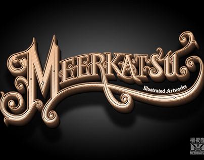 Meerkatsu - Victorian style hand lettering